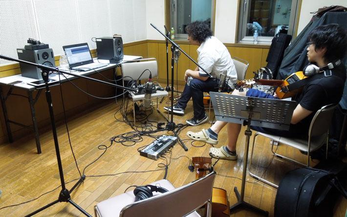 レコーディングの様子