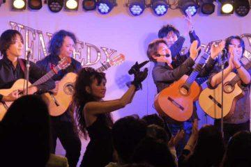 セイントフォー濱田のり子さんのライブに出演