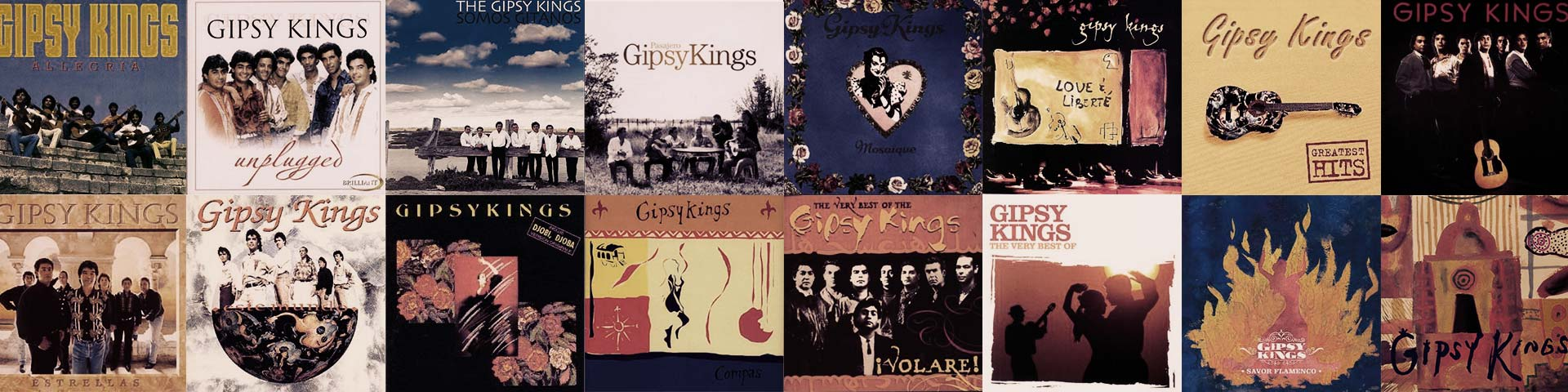 Gipsy Kings アルバムリスト