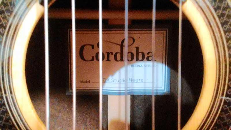 Cordoba GK-Studio Negra