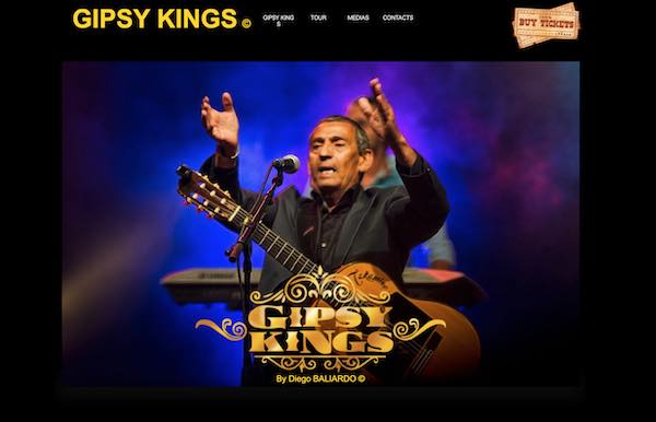 Gipsy Kings by Diego Baliardo スクリーンショット