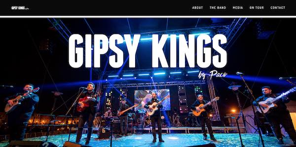 Gipsy Kings by Paco Baliardo スクリーンショット